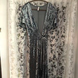 Xhilaration Formal velvet dress
